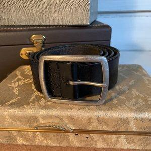 Wilsons Leather Black Belt